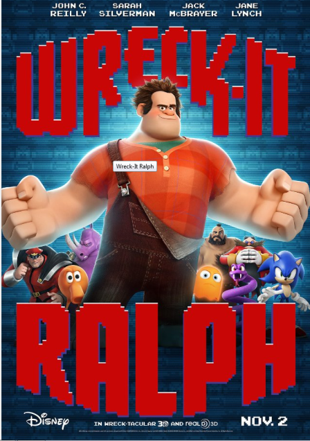 Wreck It Ralph Cover
