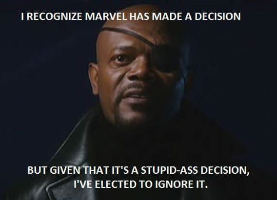 Nick Fury's got it right